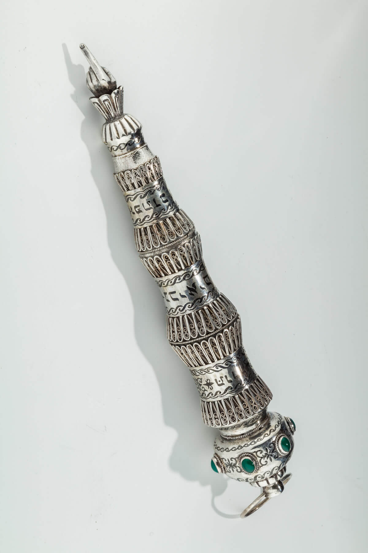 139. A Monumental Silver Torah Pointer by Henryk Winograd