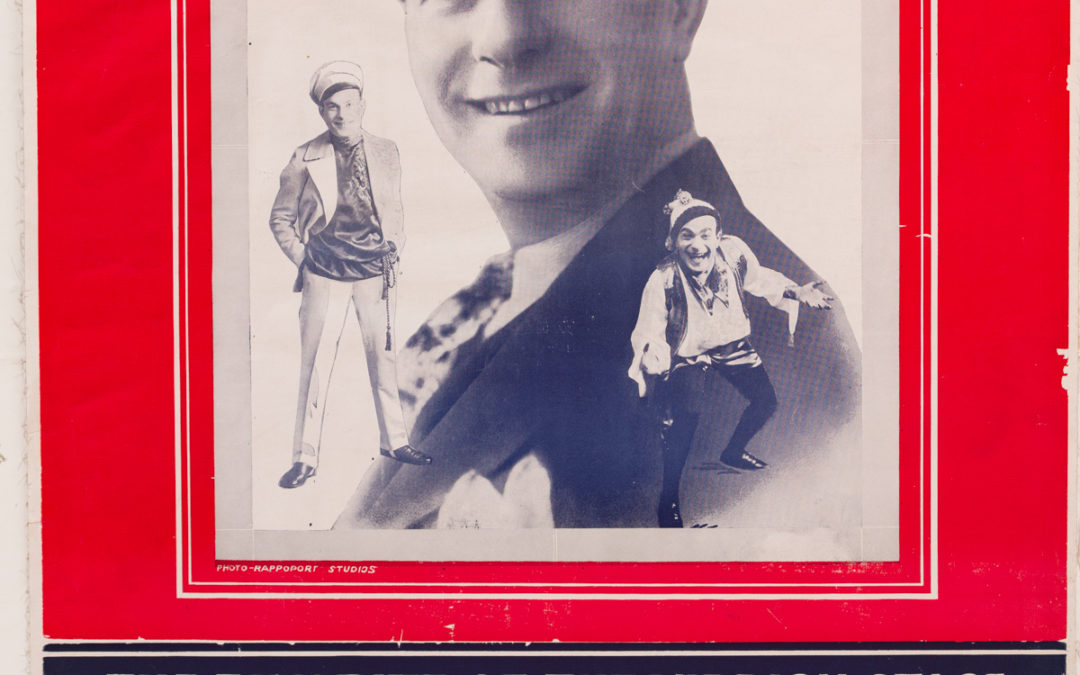 173. Yiddish Theatre Poster: Paul Burstein