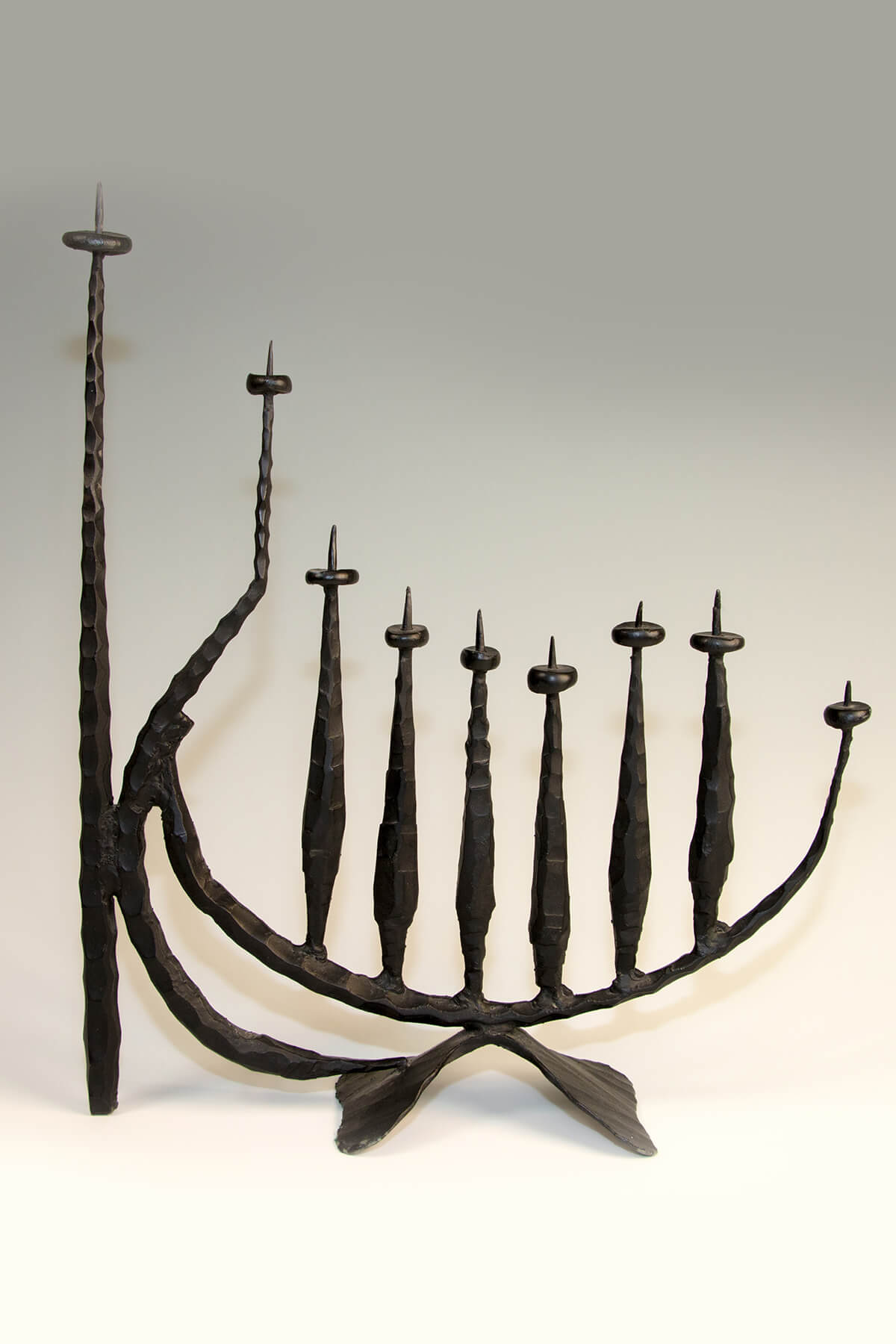 144. A Large Chanukah Menorah by David Palombo
