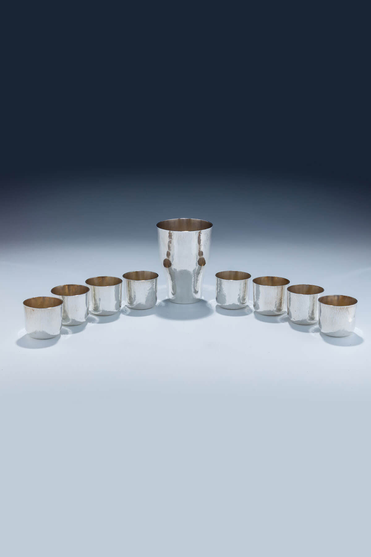 143. A Sterling Silver Kiddush Set