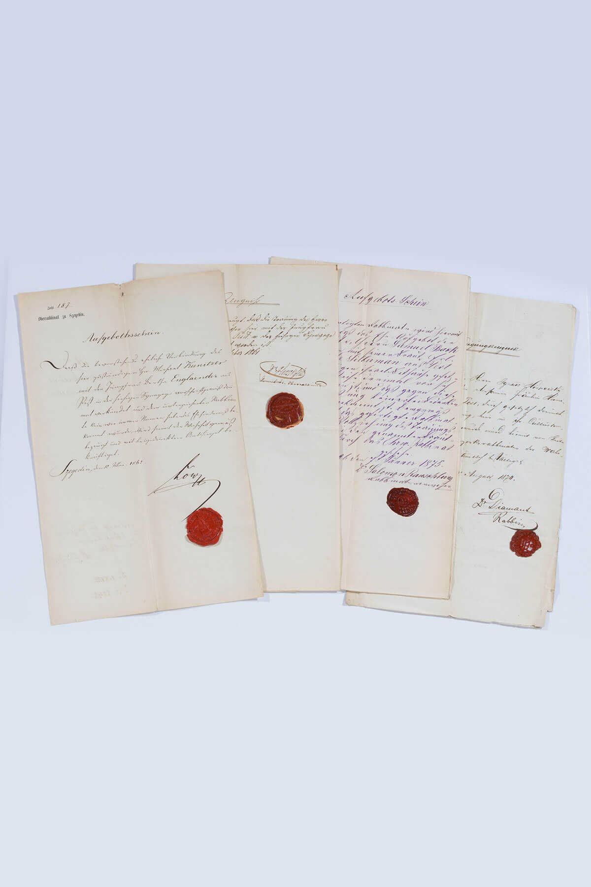 167. A Collection of Letters And Documents from the Kultusgemeinde