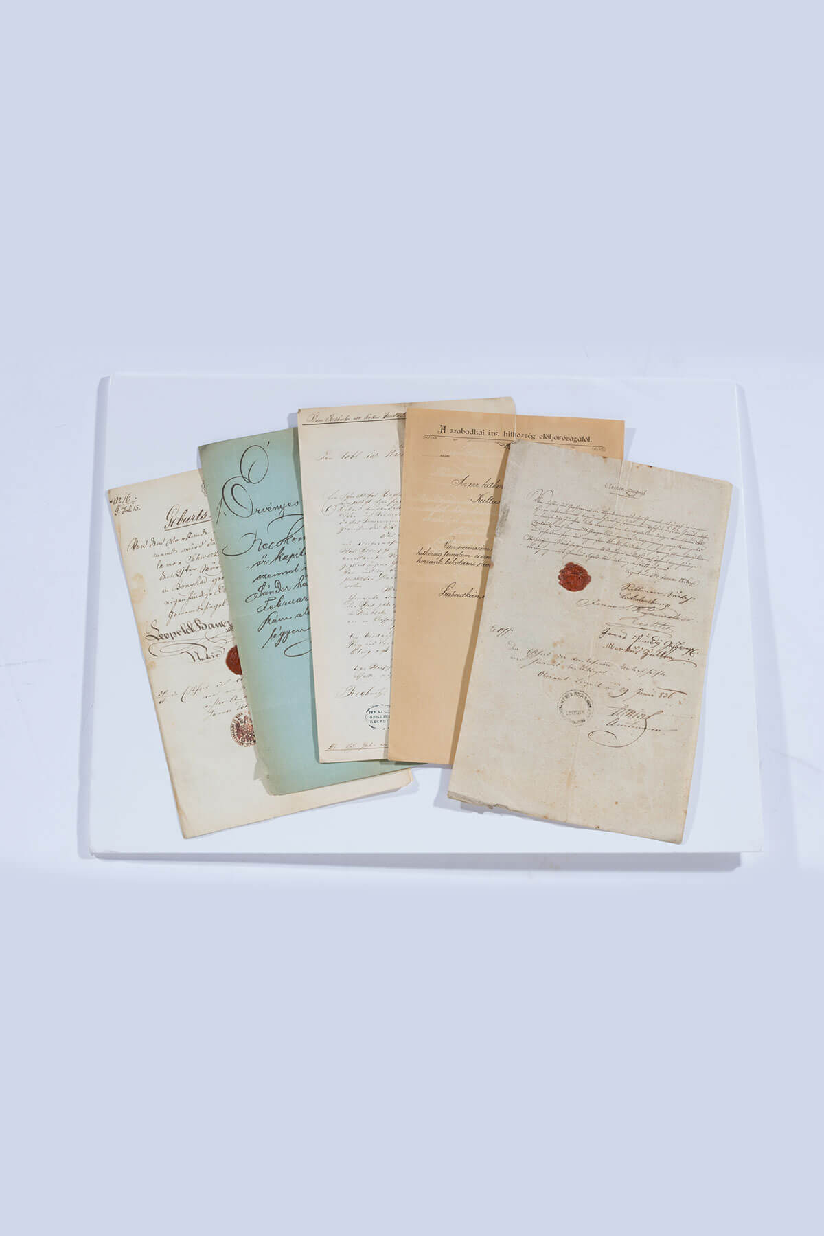 168. A Collection of Documents And Letters Received at the Kultusgemeinde