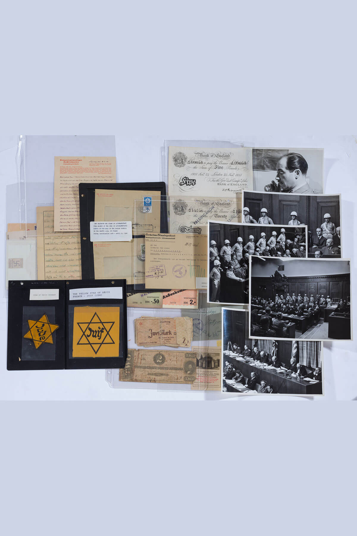 171. The Collection of Nuremberg Trial Related Ephemera from Moses L. Kove