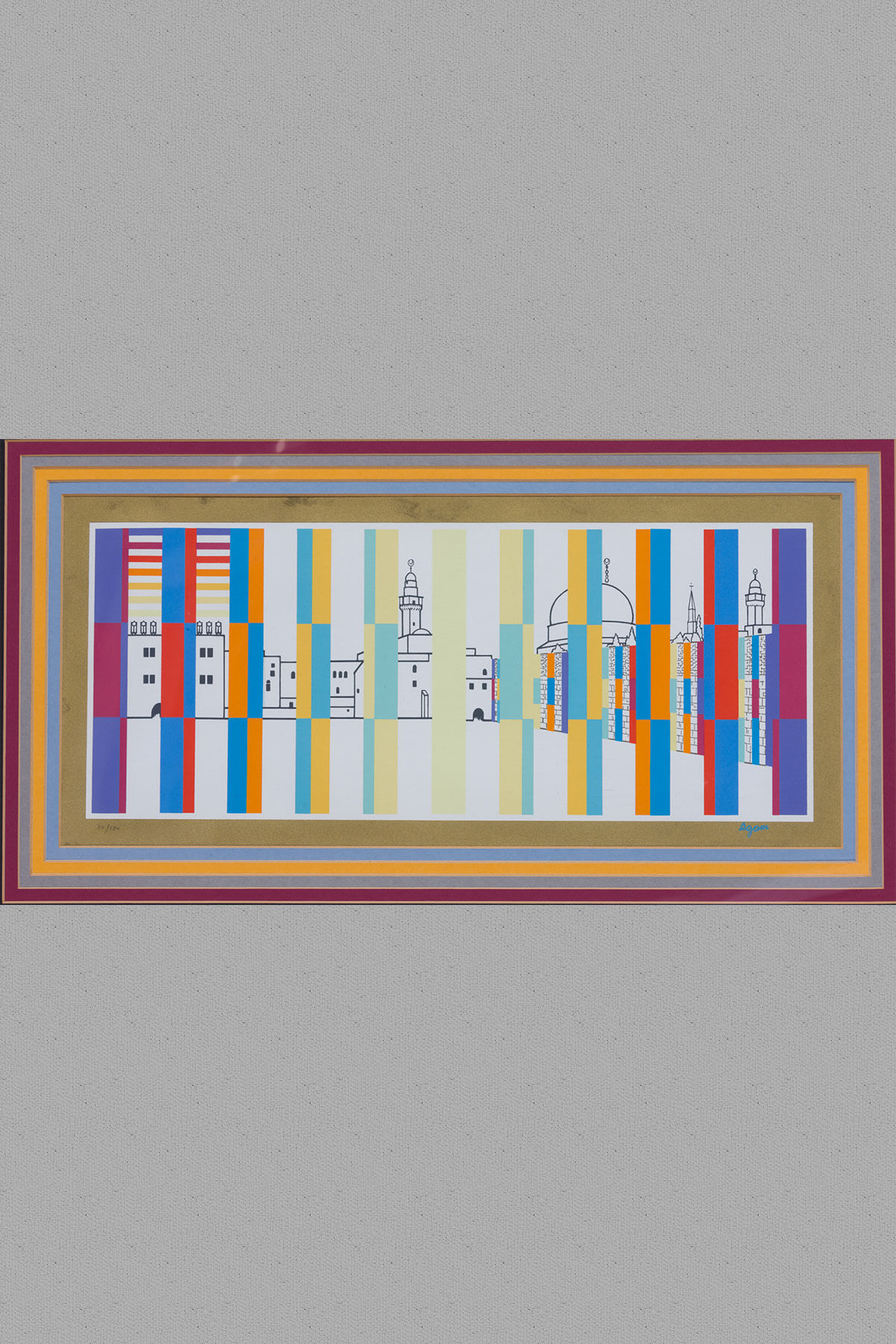 189. A Seriograph by Yaakov Agam