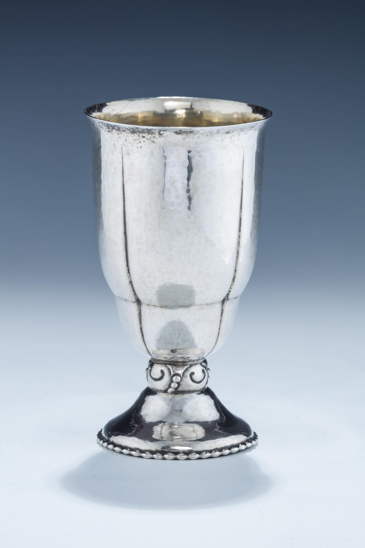59. Silver Kiddush Goblet by Lazarus Posen