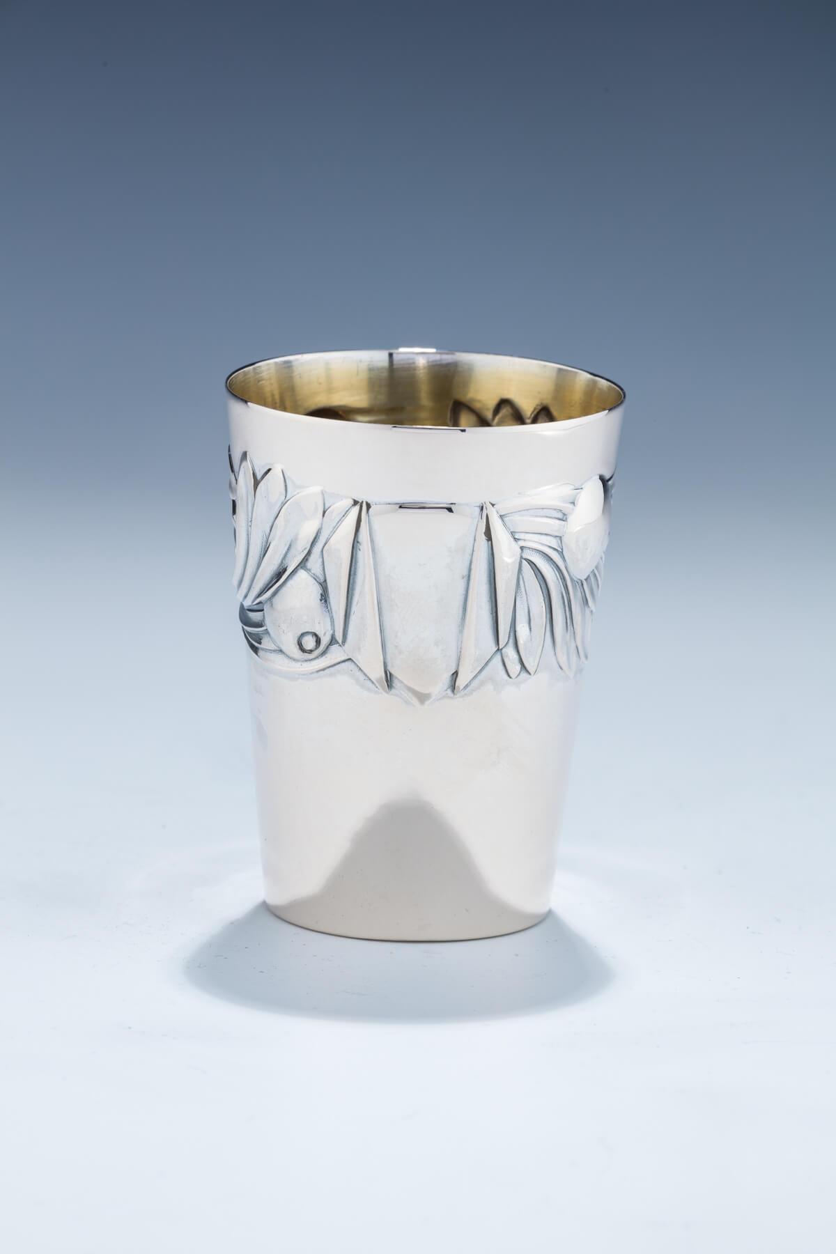 35. A Silver Beaker by Lazarus Posen