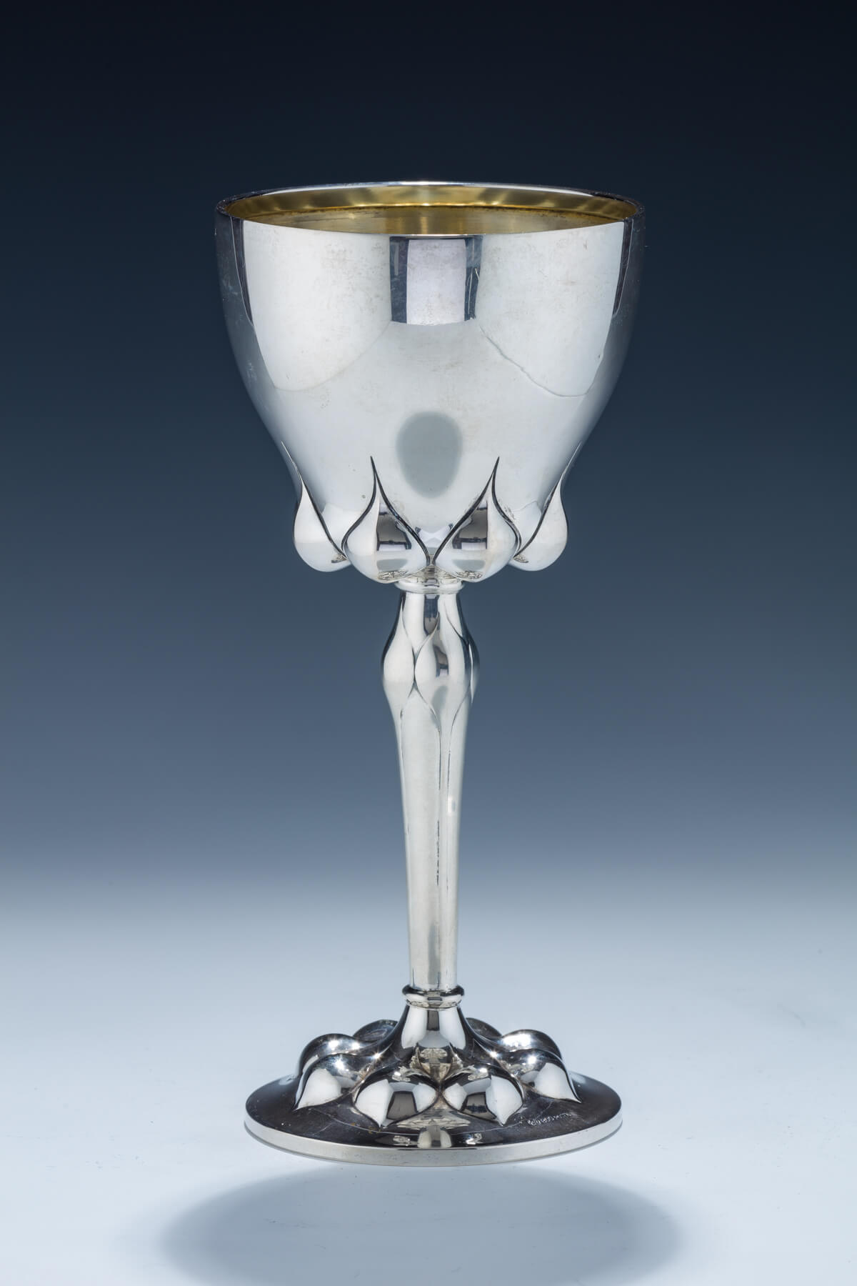 40. A Monumental Silver Goblet by Lazarus Posen