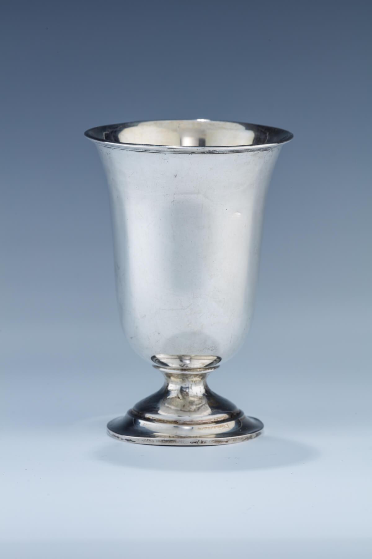 48. A Silver Kiddush Cup