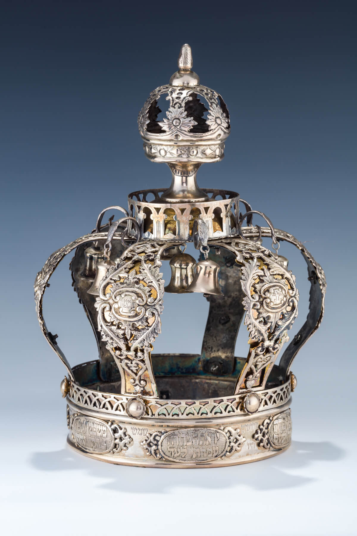 79. A Parcel Gilt Torah Crown