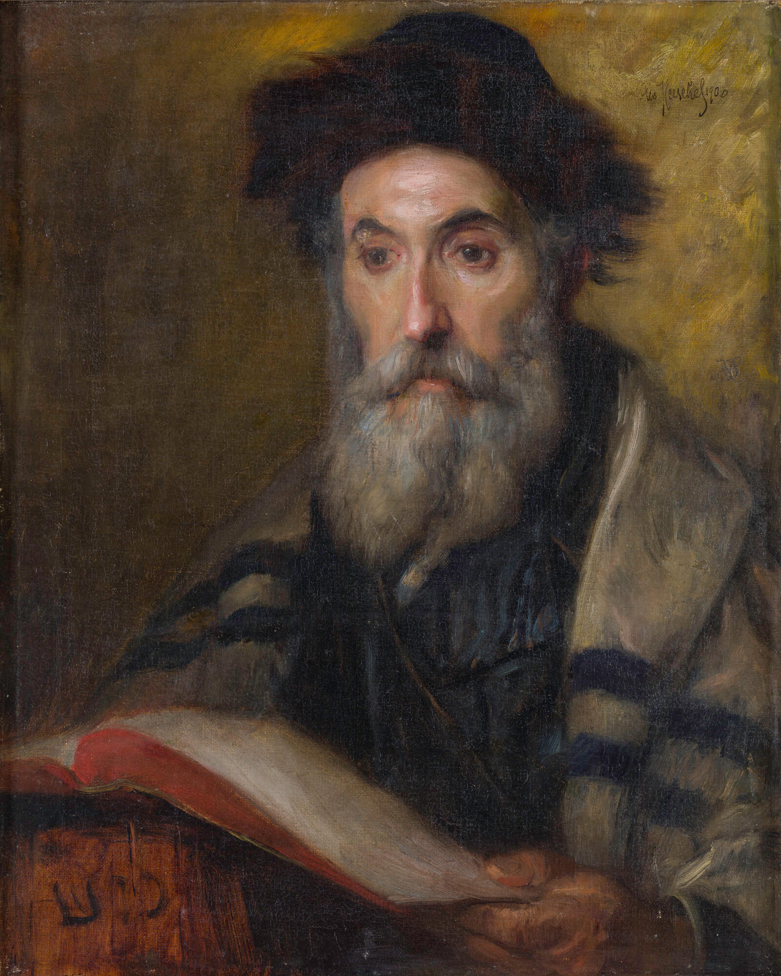 203. O. Hershler. Old Rabbi in Garb.