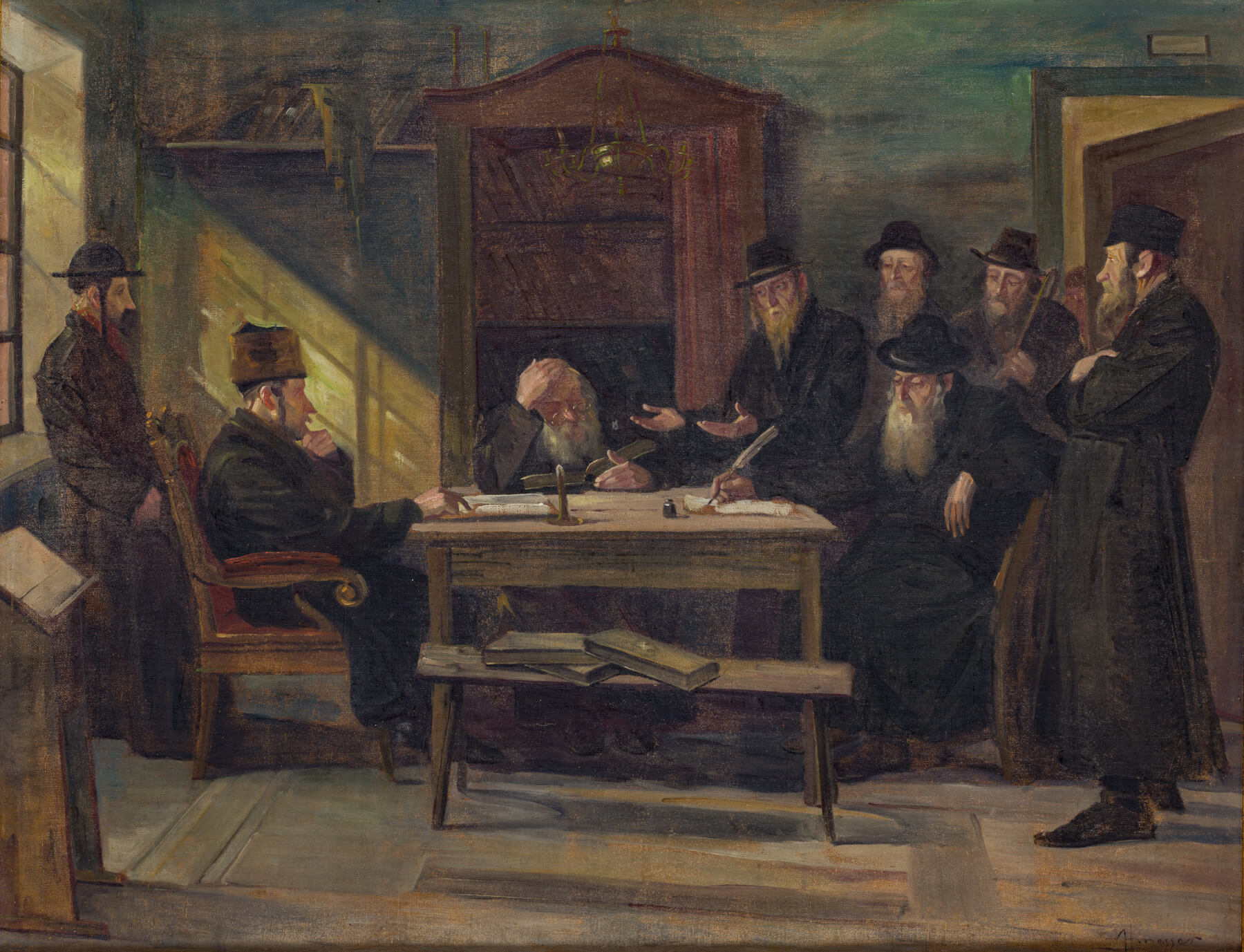 200. Honnager: Pleading Before the Rabbinic Court