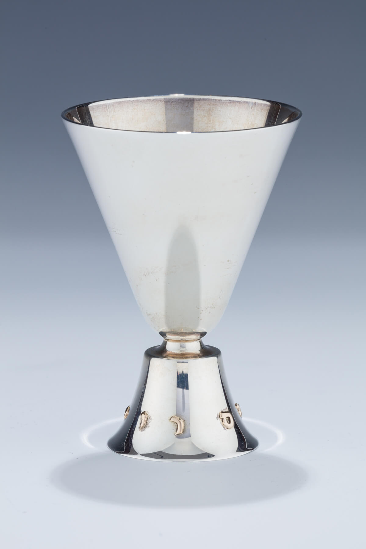 153. A Sterling Silver Kiddush Cup