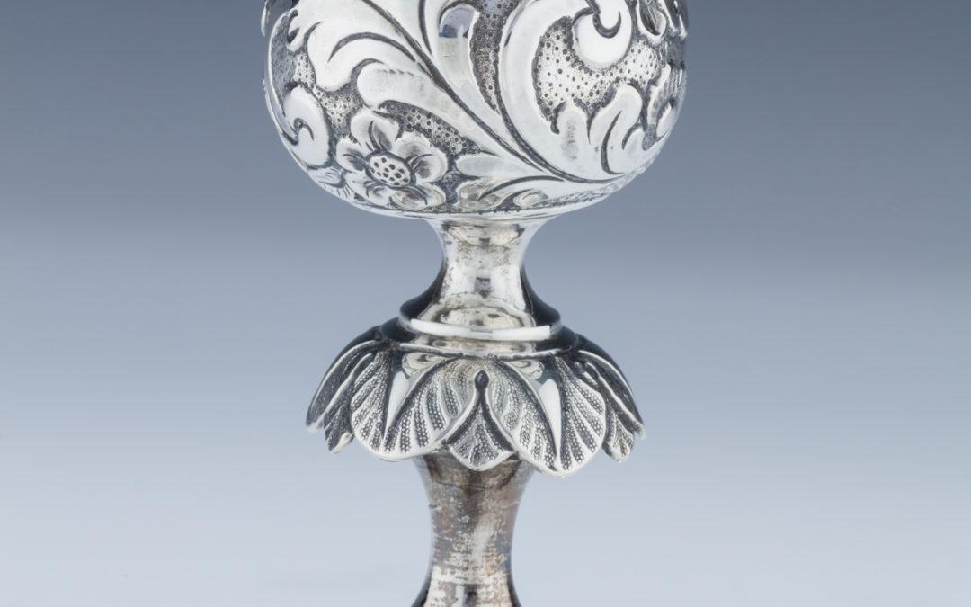 007. A Silver Kiddush Goblet