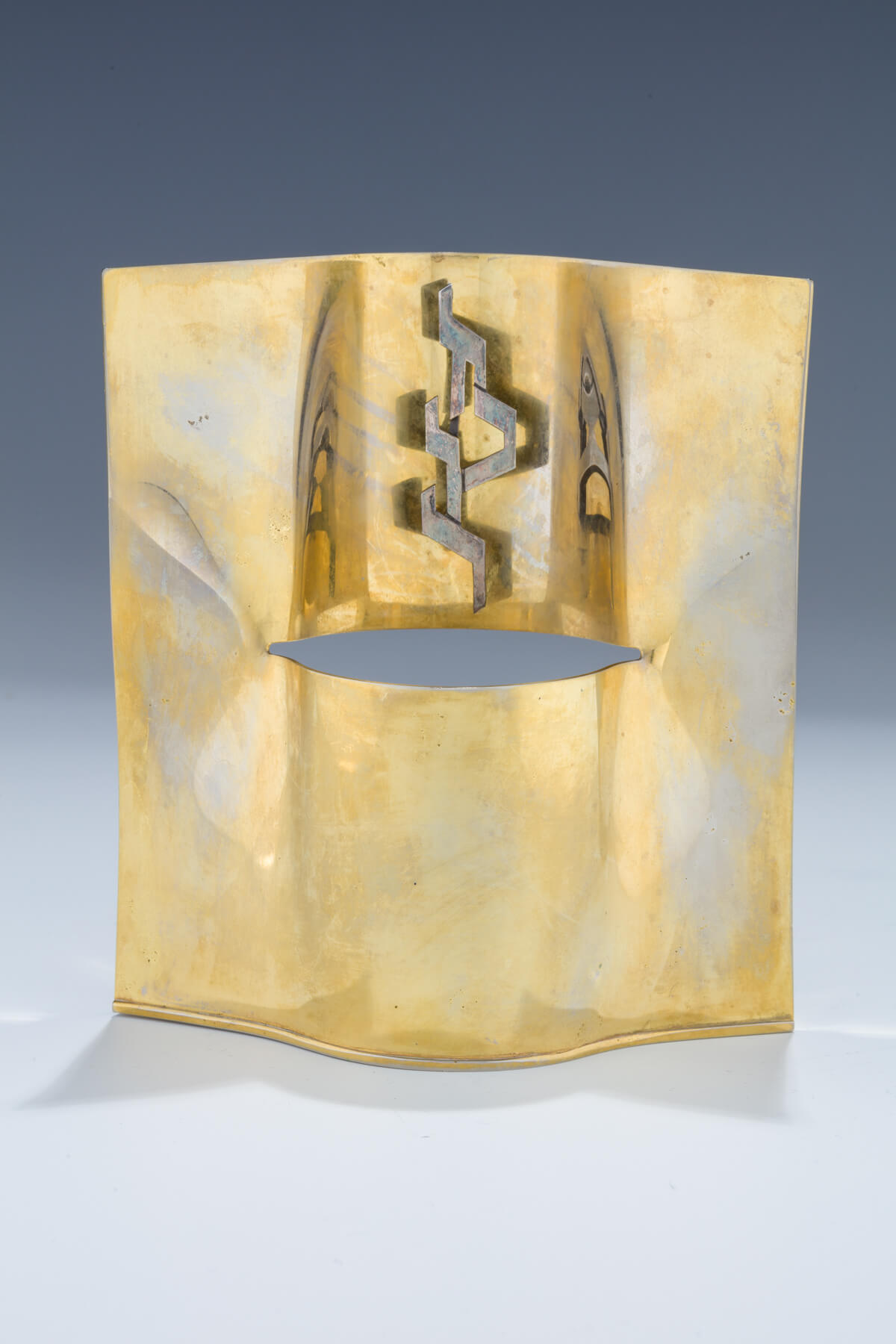 147. A Yarzheit Candle Holder by Zelig Segal