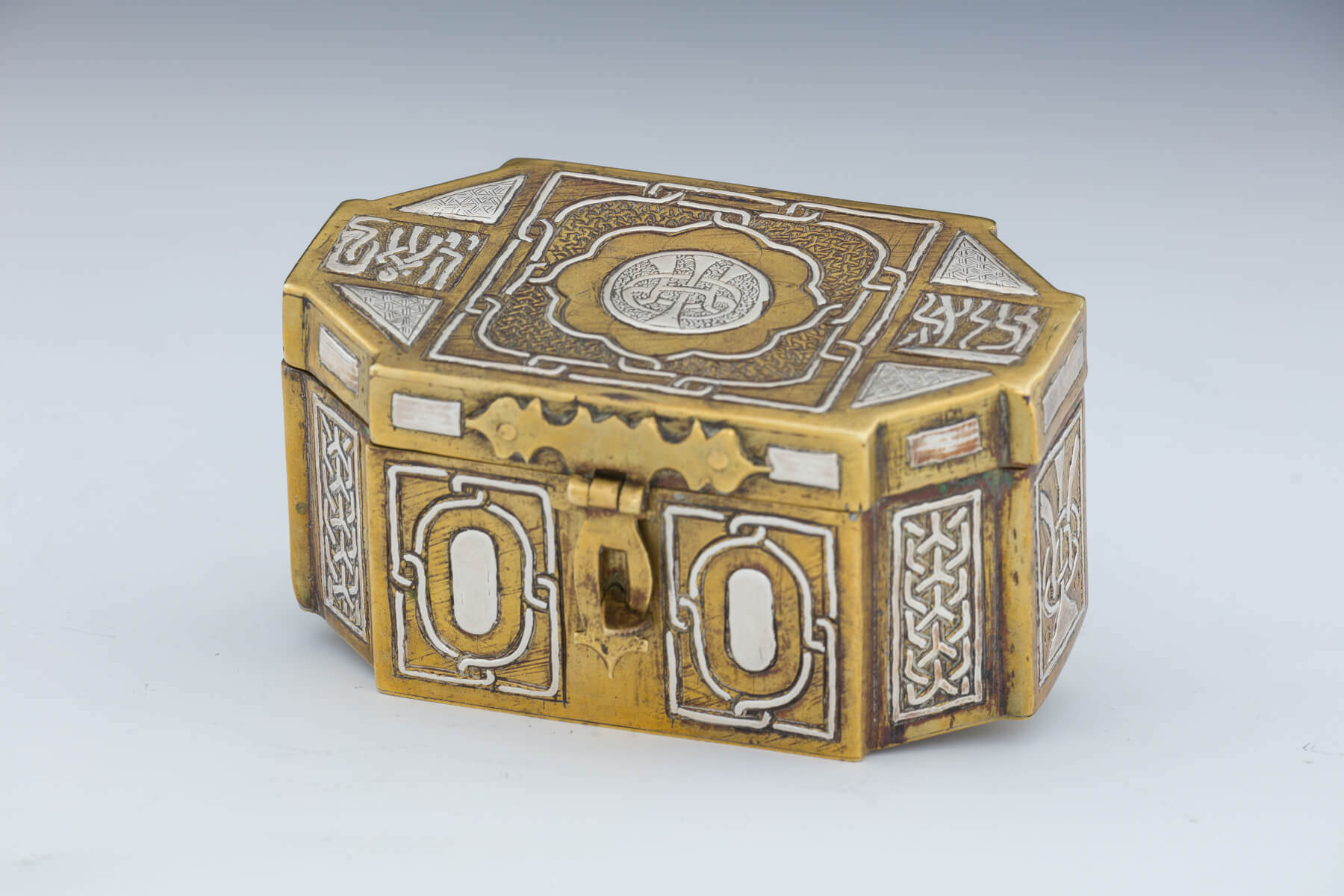 042. A Damascene Jewelry Box by Bezalel