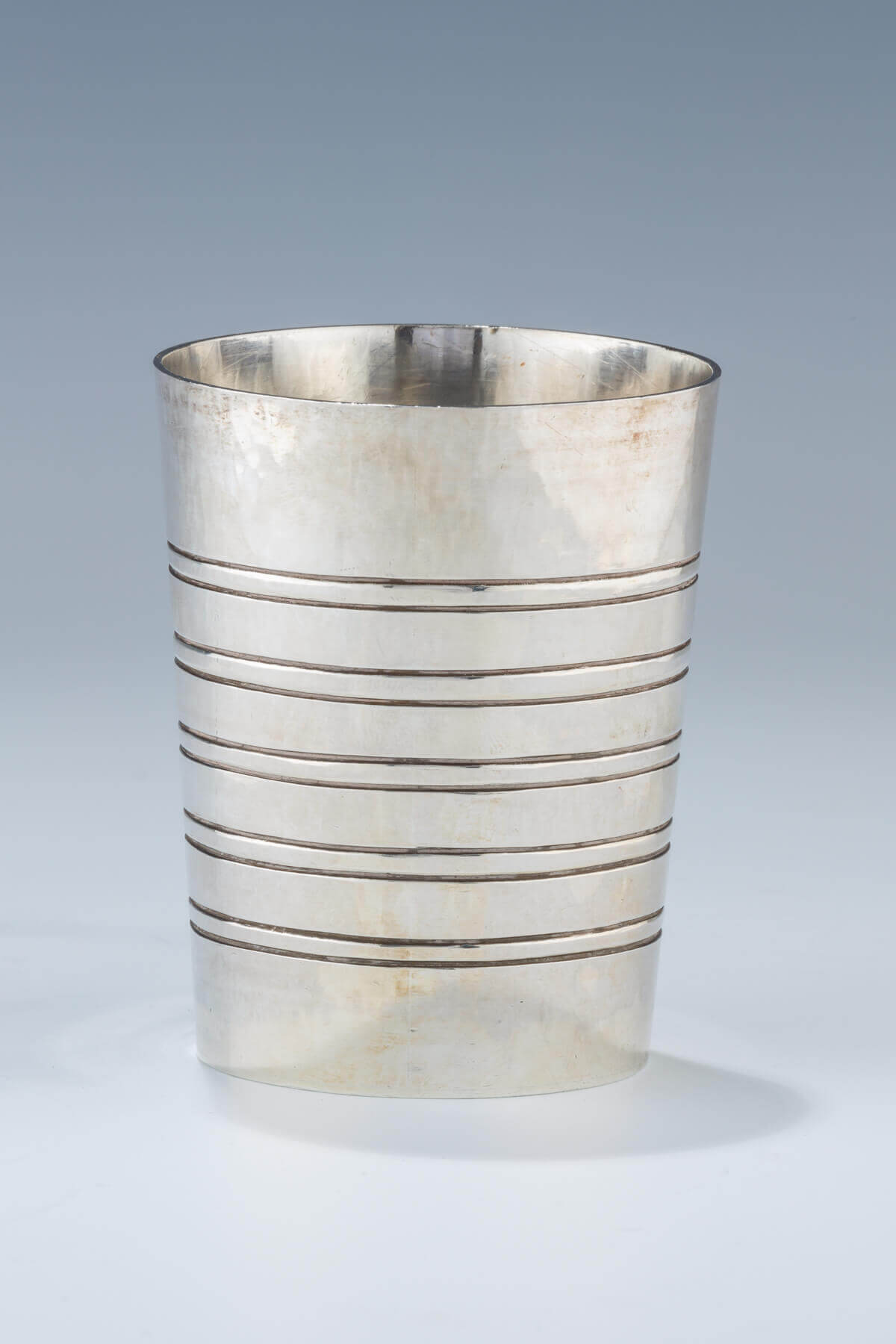 171. A STERLING SILVER KIDDUSH CUP BY DAVID GUMBEL
