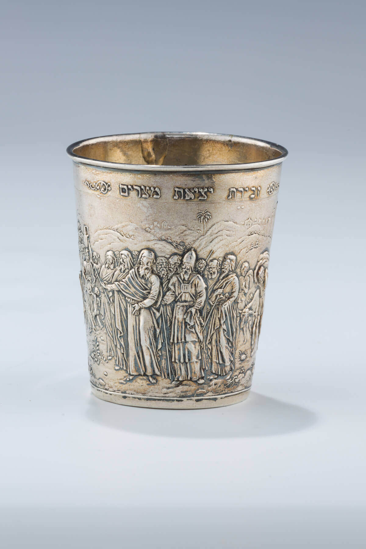 098. A SILVER PASSOVER CUP