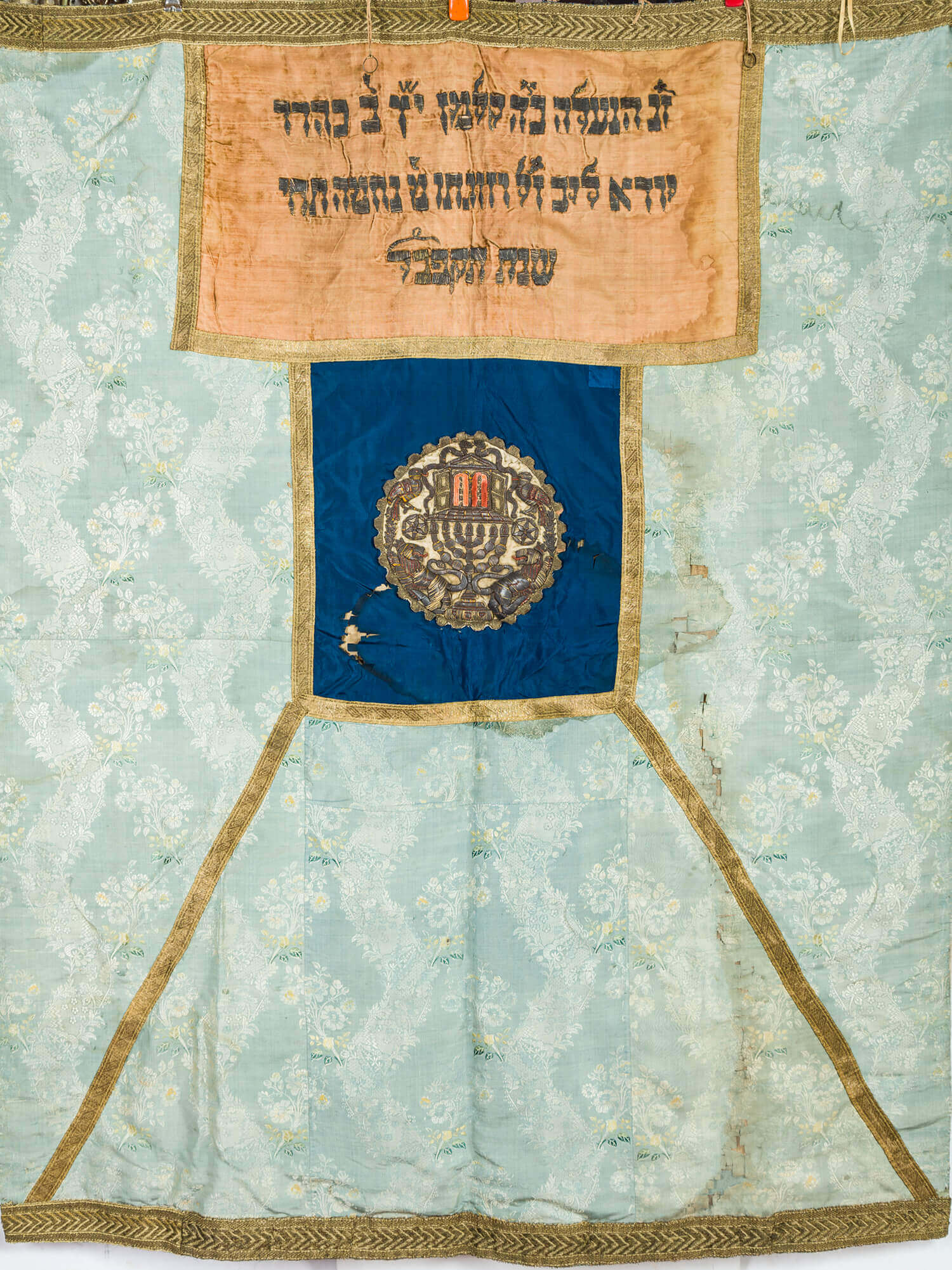 024. A LARGE TORAH ARK COVER