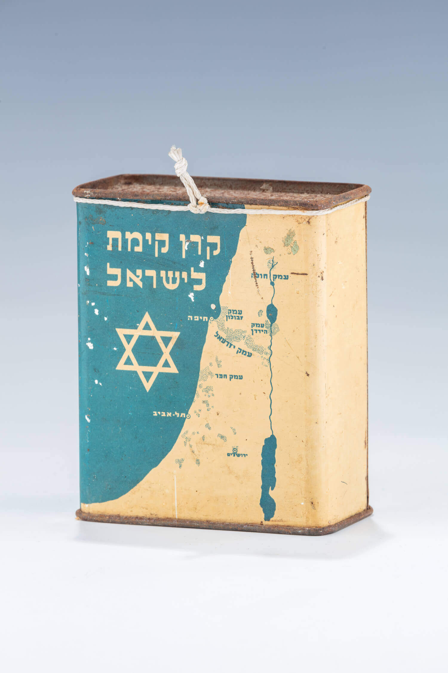 004. AN EARLY JNF COLLECTION BOX