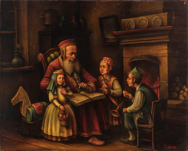 "163. BORIS SHAPIRO: ""Purim"""