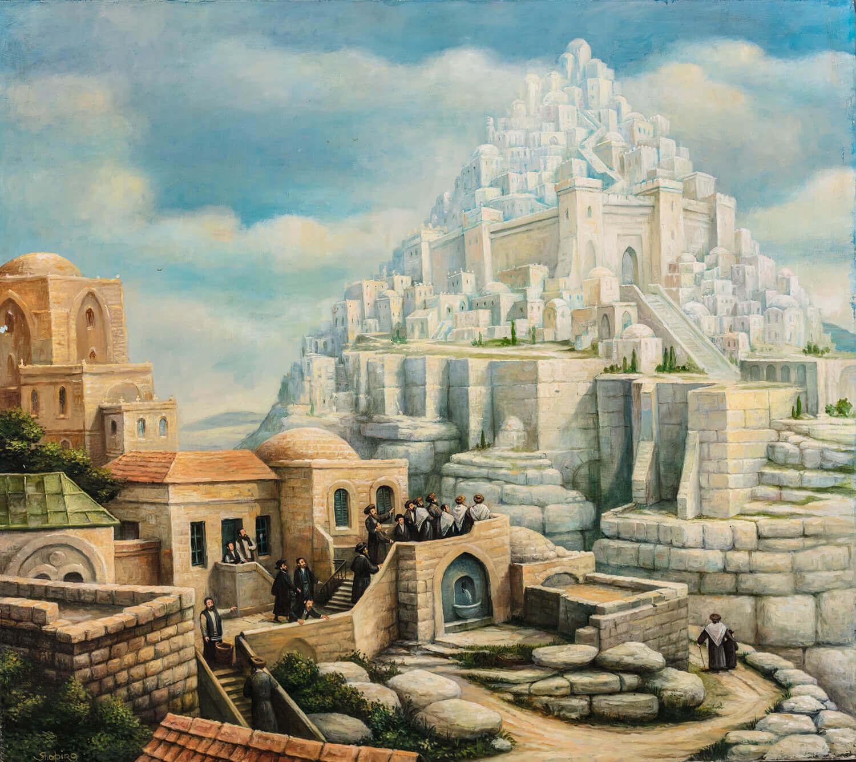 """165. BORIS SHAPIRO: """"Jerusalem of Heaven"""""""