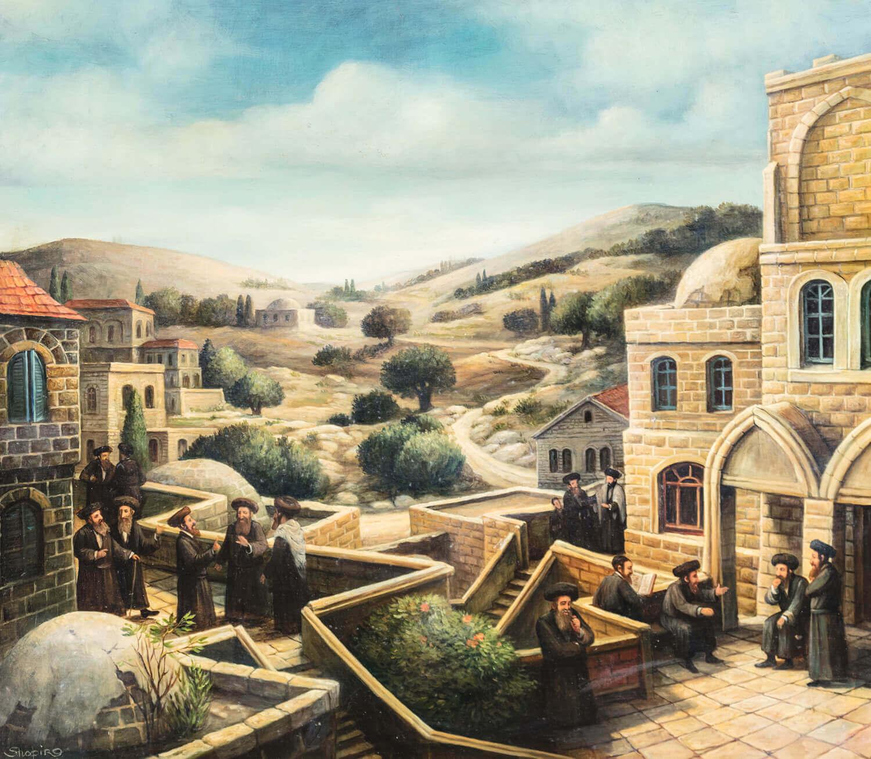 "168. BORIS SHAPIRO: ""Safed"""
