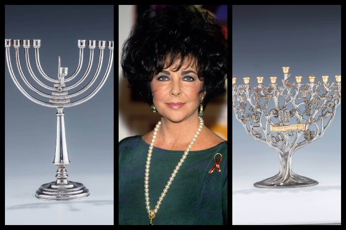 Looking for a New Menorah? Two of Elizabeth Taylor's Are Up for Sale
