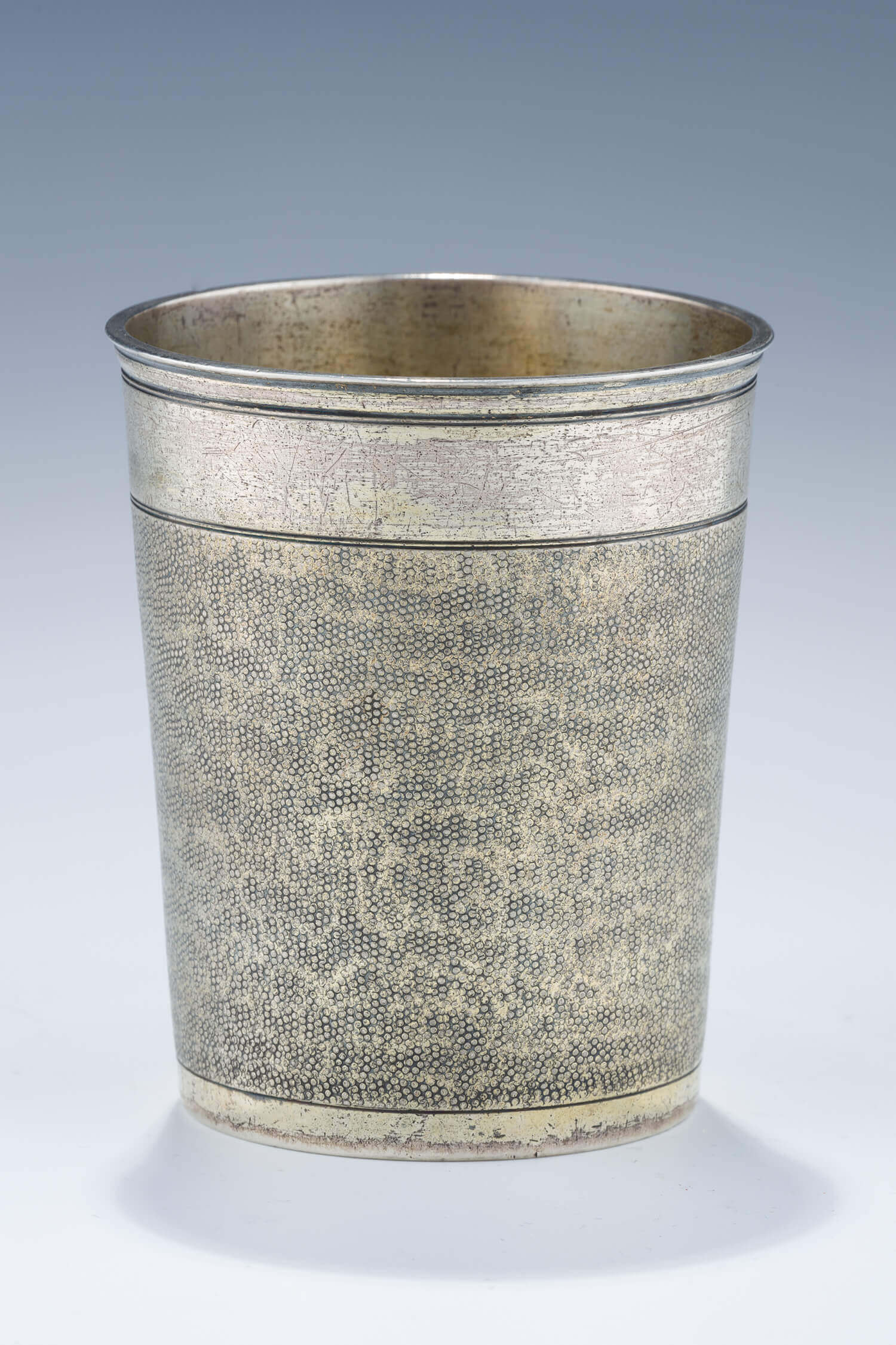 047. A LARGE SILVER BEAKER BY PAUL SOLANIER