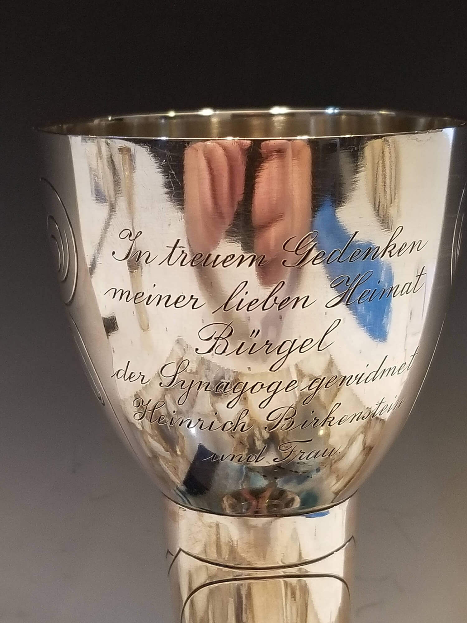 A Rare and Important Art Nouveau Silver Goblet